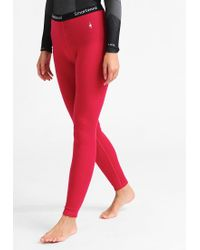 Smartwool | Red Base Layer | Lyst