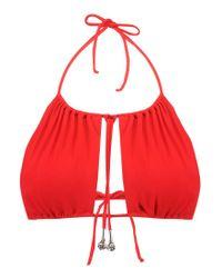 La Perla   Red Reggiseno Mare Bikini Top   Lyst