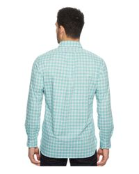 Polo Ralph Lauren Green Poplin Long Sleeve Sport Shirt for men