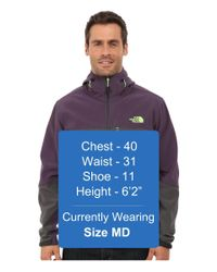 The North Face - Purple Apex Bionic Hoodie for Men - Lyst