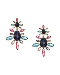 Kate Spade - Multicolor Night Sky Double Drop Earrings - Lyst