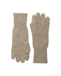 Hat Attack - Brown Cashmere Glove - Lyst