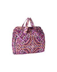 Vera Bradley - Multicolor Iconic Hanging Travel Organizer (classic Navy) Luggage - Lyst
