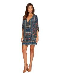 Tolani - Blue Aster Tunic Dress - Lyst