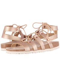 Birkenstock Pink Papillio S By Cleo Leather Sandals