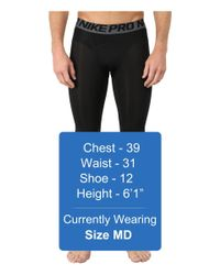 Nike | Black Pro Cool Compression Tight for Men | Lyst