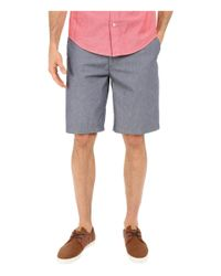 Dockers - Blue The Perfect Shorts Classic Flat Front for Men - Lyst