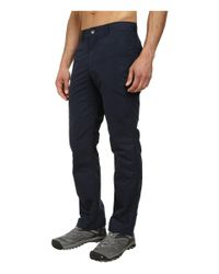 Mountain Khakis - Blue Slim Fit Poplin Pant for Men - Lyst