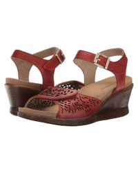 Romika - Nevis 05 (red) Women's Shoes - Lyst