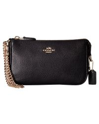 COACH Black Nolita 19 Shoulder Bag
