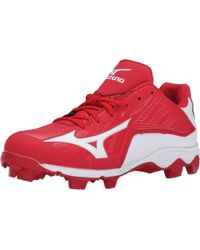 Mizuno - Red 9-spike® Advanced Franchise 8 Low for Men - Lyst