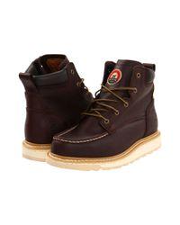 cfa69af1fa9 Irish Setter 83605 6 Wedge (brown) Men's Work Boots in Brown for Men ...