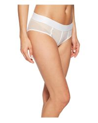 DKNY - White Sheers Hipster - Lyst