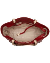 MICHAEL Michael Kors - Bedford Top-zip Pocket Tote (burnt Red) Tote Handbags - Lyst
