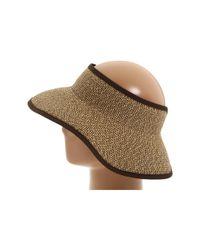 San Diego Hat Company - Brown Ubv002 Sun Hat Visor - Lyst