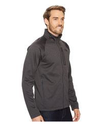 The North Face - Gray Canyonlands Full Zip (shady Blue Heather) Men's Coat for Men - Lyst