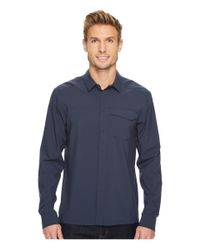 Arc'teryx Blue Skyline Long Sleeve Shirt for men