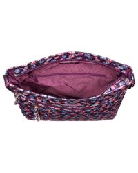 Vera Bradley - Purple Travel Ready Crossbody (water Geo) Cross Body Handbags - Lyst