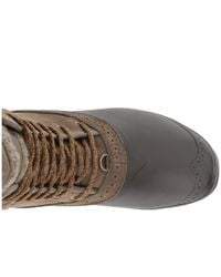 The North Face - Green Shellista Ii Mid (dachshund Brown/demitasse Brown) Women's Cold Weather Boots - Lyst
