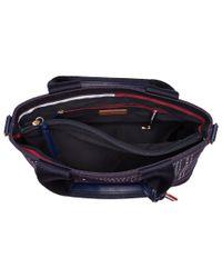 Tommy Hilfiger - Blue Nia Convertible Mini Bandana Tote (tommy Navy) Tote Handbags - Lyst