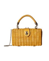 Patricia Nash Multicolor Ayora Wicker Shoulder Bag