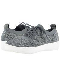 Fitflop - Gray F-sporty Uberknit Sneakers for Men - Lyst