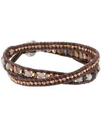 Chan Luu - Multicolor Botswana Agate Mix Double Wrap Bracelet - Lyst