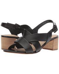 Paul Green - Reese Sandal (black Leather) Women's Sandals - Lyst