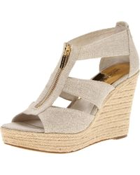 MICHAEL Michael Kors - Natural Damita Wedge - Lyst