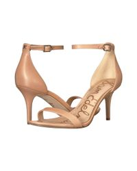 Sam Edelman - Natural Patti Strappy Sandal Heel - Lyst