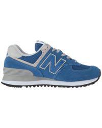 New Balance - Blue Ml574v2 for Men - Lyst