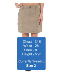 Prana - Natural Monarch Skirt - Lyst