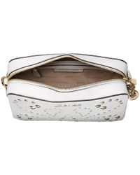 MICHAEL Michael Kors - White Medium Camera Bag - Lyst