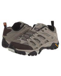 Merrell | Black Moab Rover Slip-on Shoes for Men | Lyst