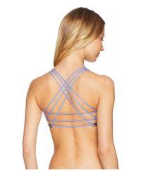 Maaji - Rally Racers Strappy Back Top (multicolor) Women's Swimwear - Lyst