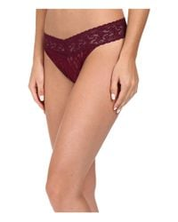 Hanky Panky | Multicolor Signature Lace Original Rise Thong 5-pack | Lyst