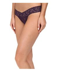 Hanky Panky | Multicolor Signature Lace Low Rise Thong 5-pack | Lyst