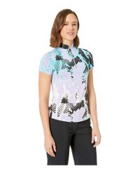 Jamie Sadock - Blue Boa Print Short Sleeve Top (caprice) Women's Clothing - Lyst
