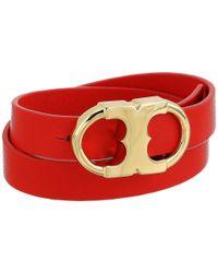 Tory Burch - Multicolor Gemini Link Double-wrap Bracelet - Lyst