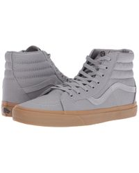 Vans | Gray Sk8-hi Reissue for Men | Lyst