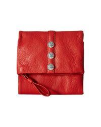 Brighton - Red Nolita Shimmer Small Wallet - Lyst