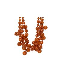 Kenneth Jay Lane | Brown Multi Bead Necklace | Lyst