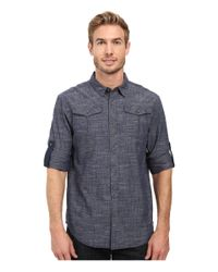 Prana - Multicolor Rollin Shirt for Men - Lyst