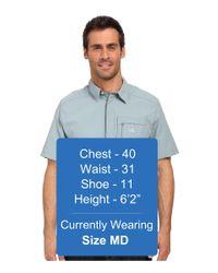 Adidas Originals - Gray Hiking Wick Short Sleeve Shirt for Men - Lyst
