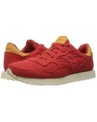 Saucony Red Originals Dxn Trainer Fashion Sneaker