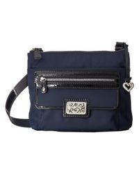 Brighton - Blue Charlie Pocket Messenger - Lyst