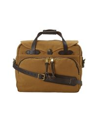 Filson | Brown Padded Laptop Bag/briefcase | Lyst