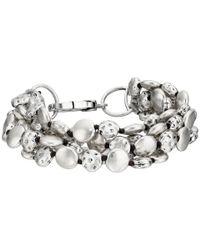 Lucky Brand | Metallic Coin Bracelet | Lyst