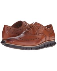 Cole Haan | Brown Zerogrand Wing Ox for Men | Lyst