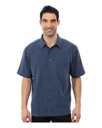 Quiksilver   Blue Clear Days 4 Traditional Polynosic Woven Top for Men   Lyst